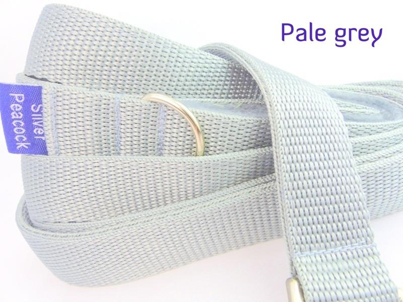 Pale grey webbing long lead