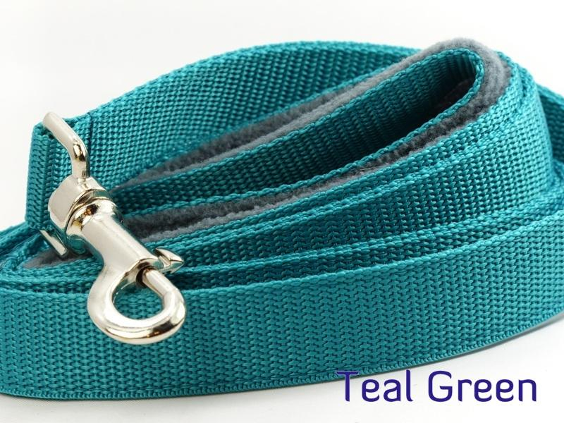 Teal webbing long lead