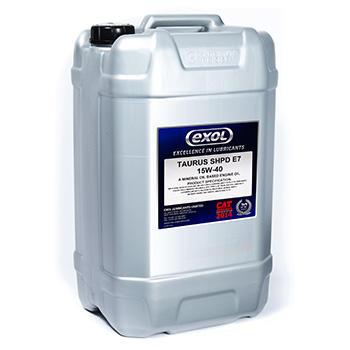 Taurus SHPD E7 15W-40 Mineral oil based heavy duty diesel