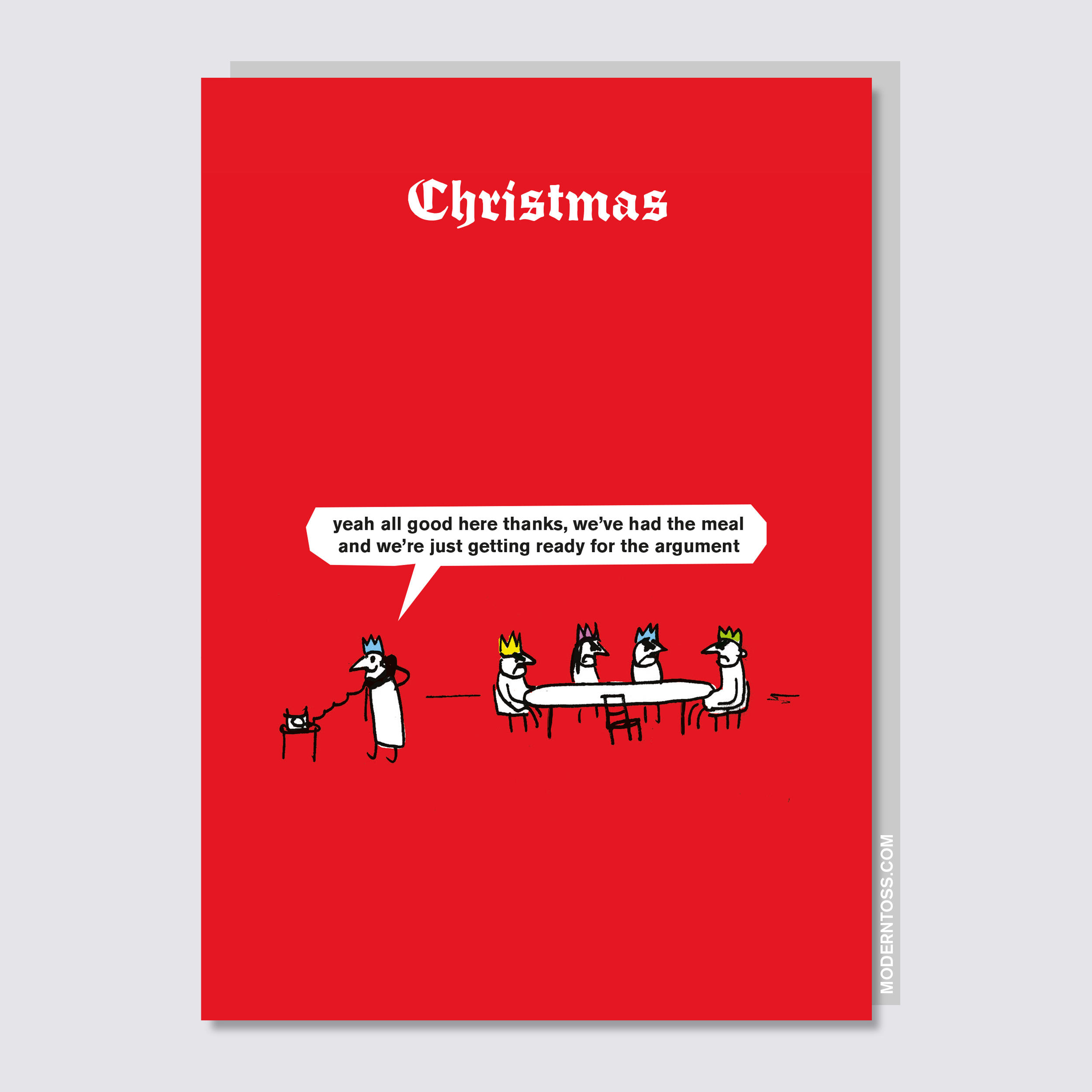 Christmas Argument Card