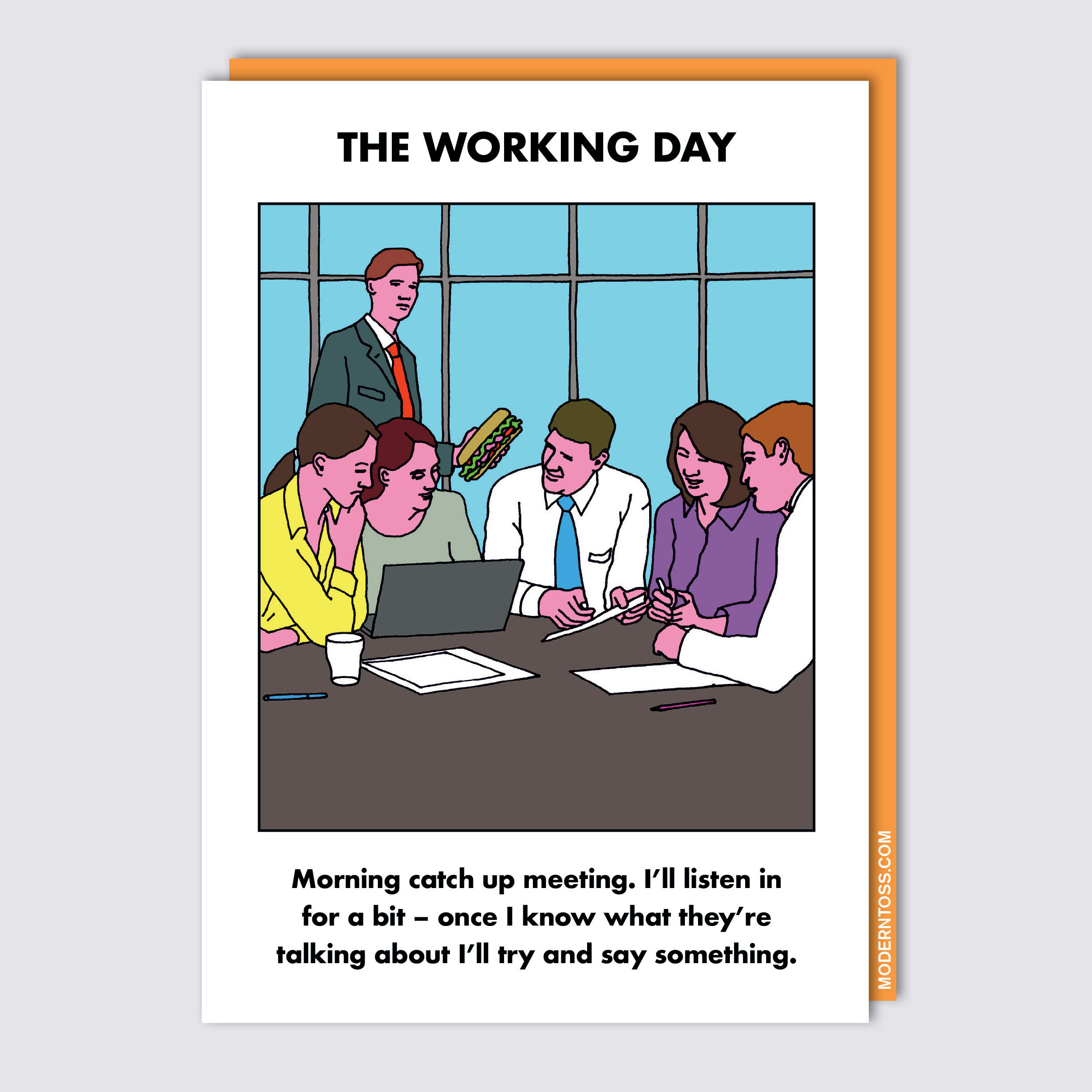 meeting card