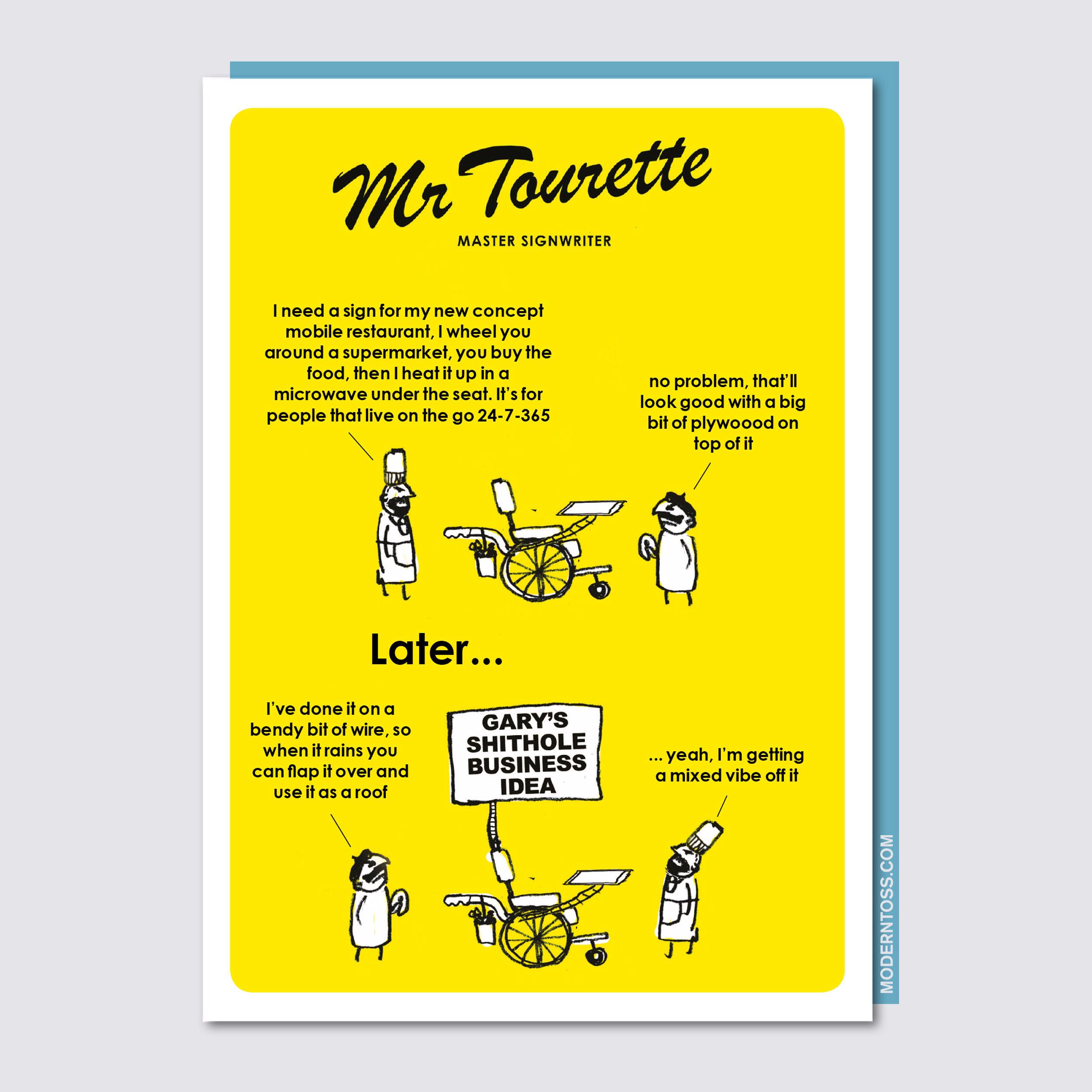 Mr Tourette