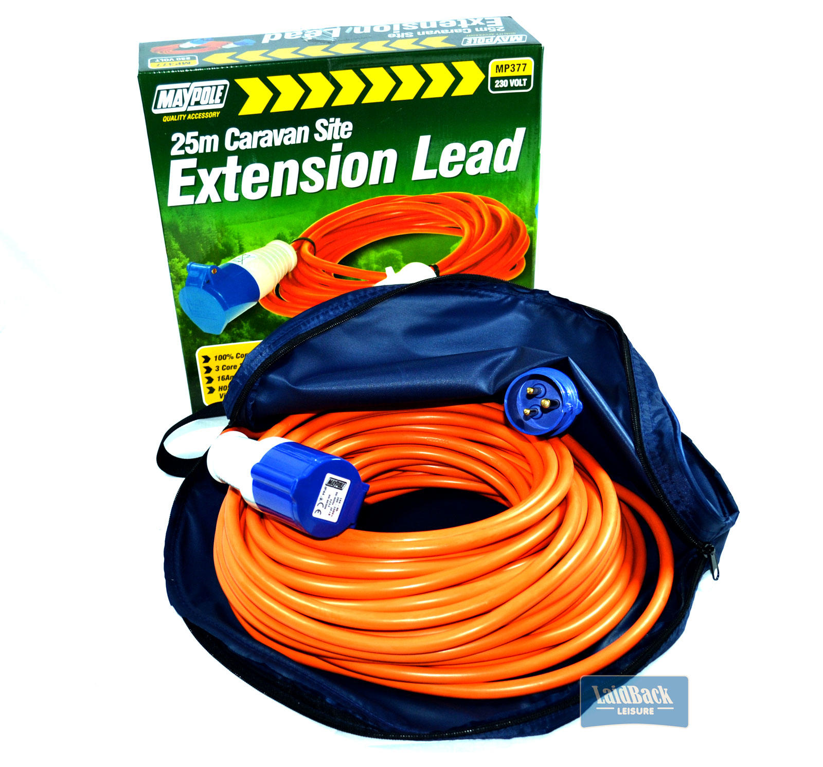 Maypole 230v uk hook up lead