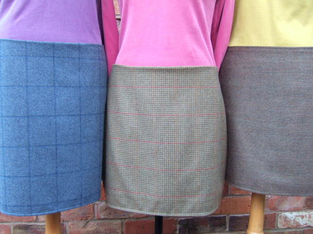 Tweed Skirt