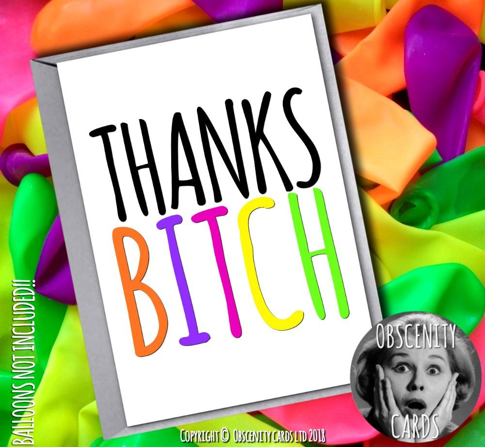 Thanks Funny Thank You Card