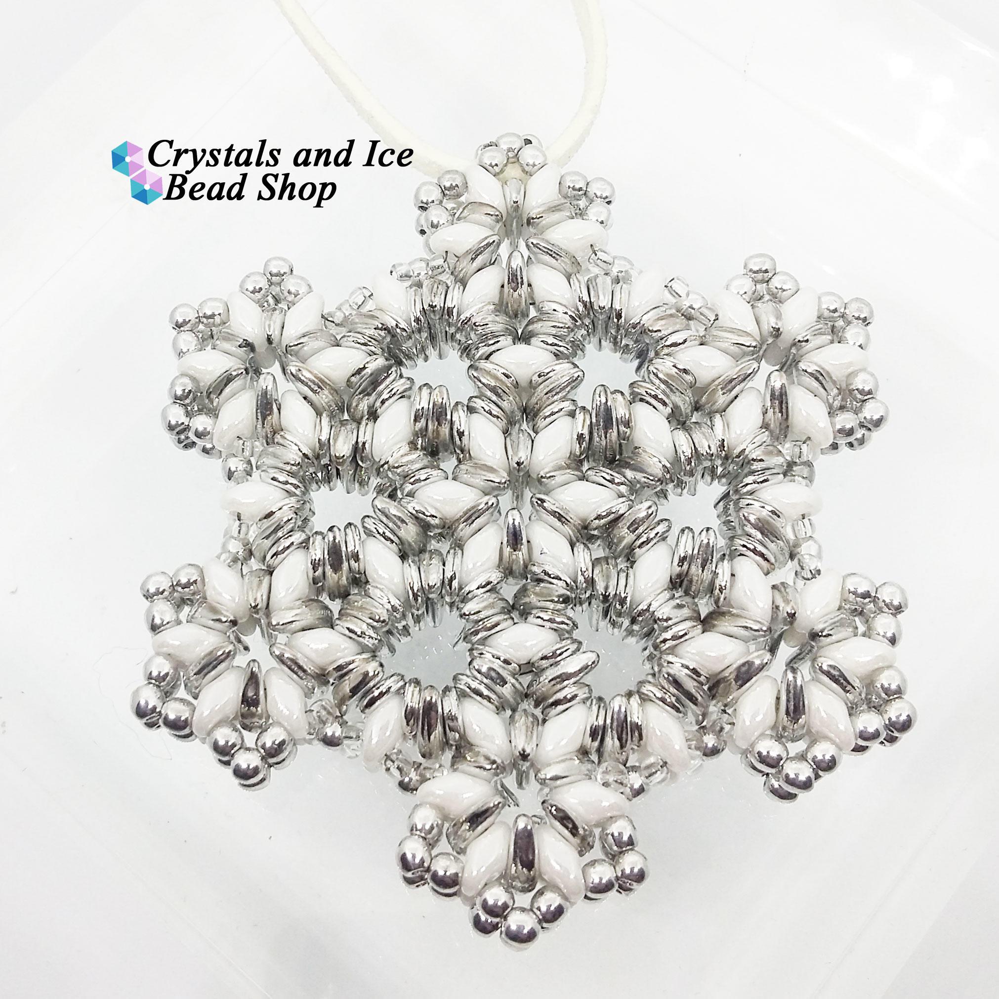 Christmas Snowflake Ornament Kit