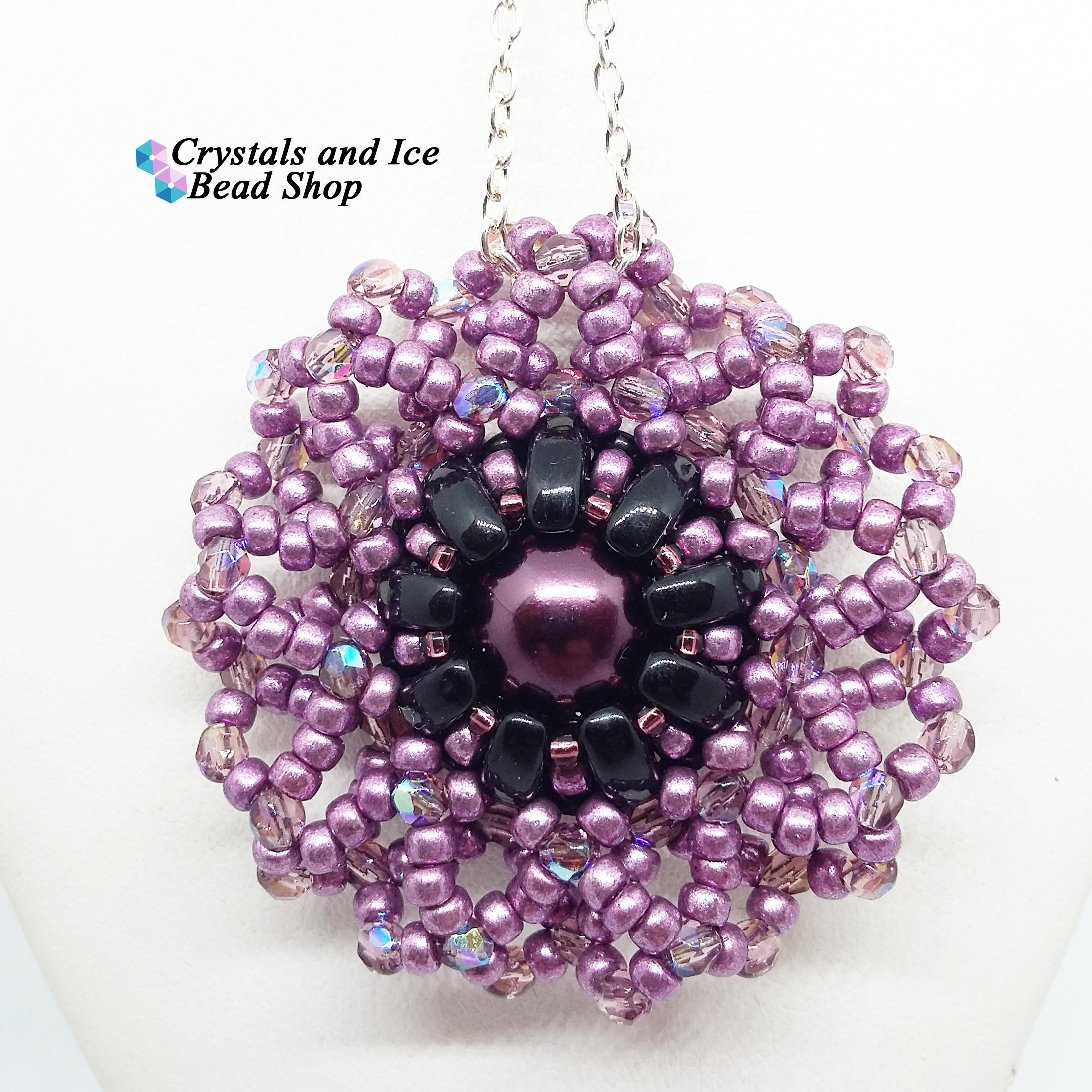 Lotus flower pendant kit twilight izmirmasajfo