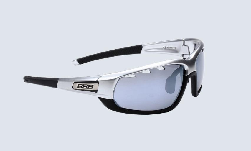 BBB BSG-45SE Adapt Sport Cycle Glasses Chrome Black 5253e23422