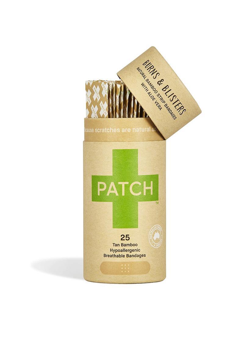 PATCH - Organic Bamboo Plasters (25) - aloe vera