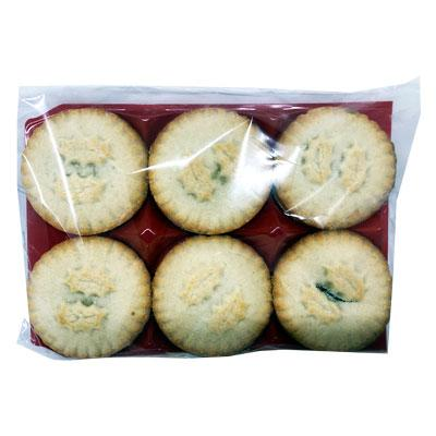 Lewis Food Wholesalers- Plain (Clear) Wrap Mince Pies x 20