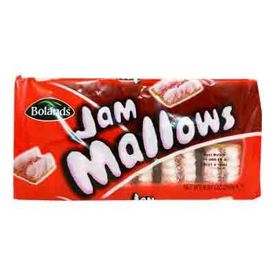 Lewis Food Wholesalers- Bolands Jam Mallow 250g x18