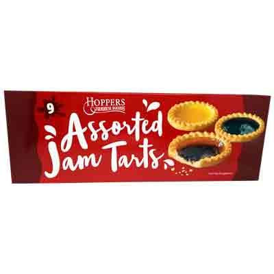 Lewis Food Wholesalers- Hoppers Jam Tarts 9pk x 16