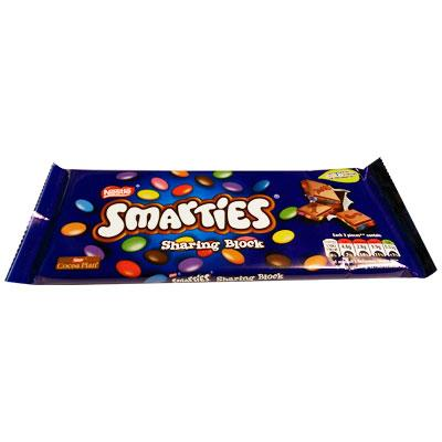 Lewis Food Wholesalers- Smarties 100gx 12