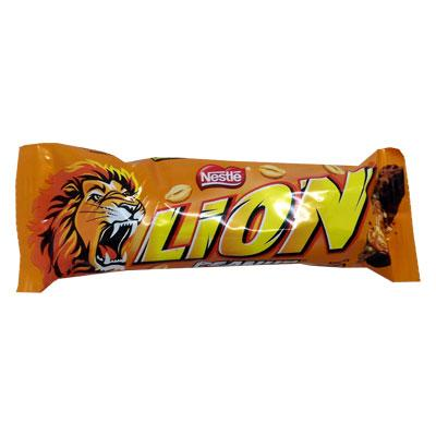 Lewis Food Wholesalers- Nestle Lion Bar Peanut 40g x40