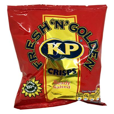 Lewis Food Wholesalers- Kp Crisp Ready Salted 25g x48