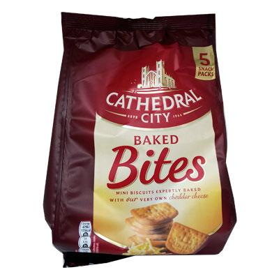 Lewis Food Wholesalers- Cathedral City Bites 5Pk x8