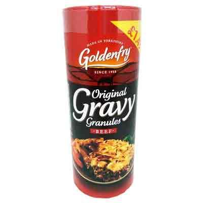 Lewis Food Wholesalers- Goldenfry Beef Gravy 400g x6
