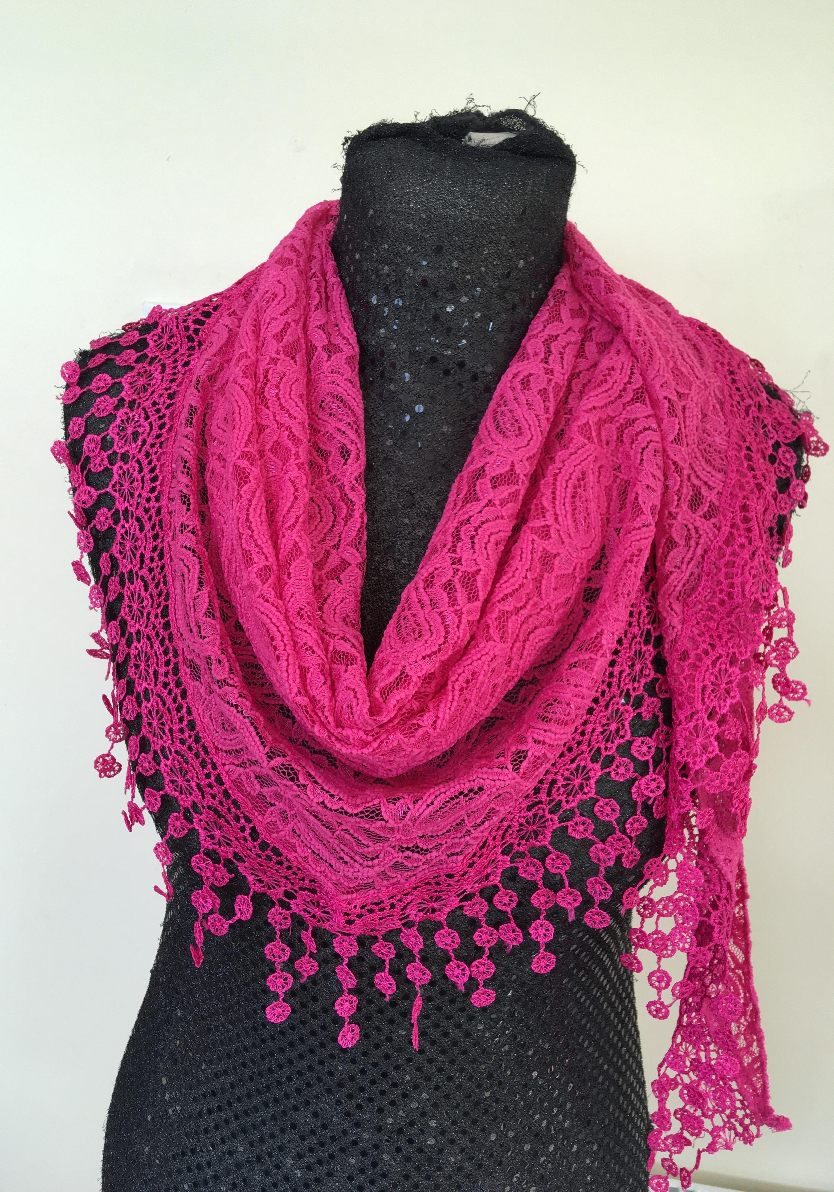 Lacy Scarves £15
