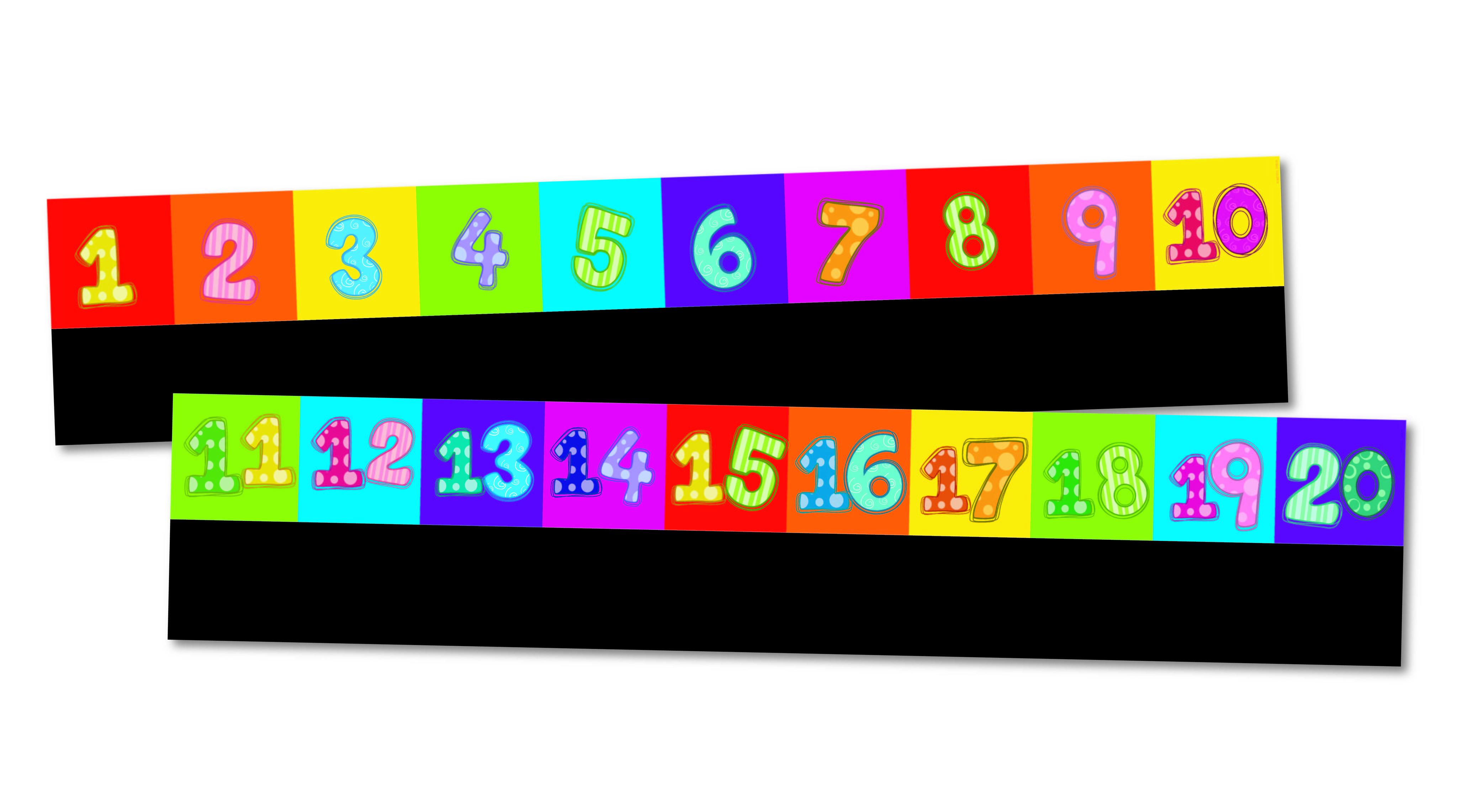 worksheet Number Line 1-10 chalkable number line 1 10 11 20