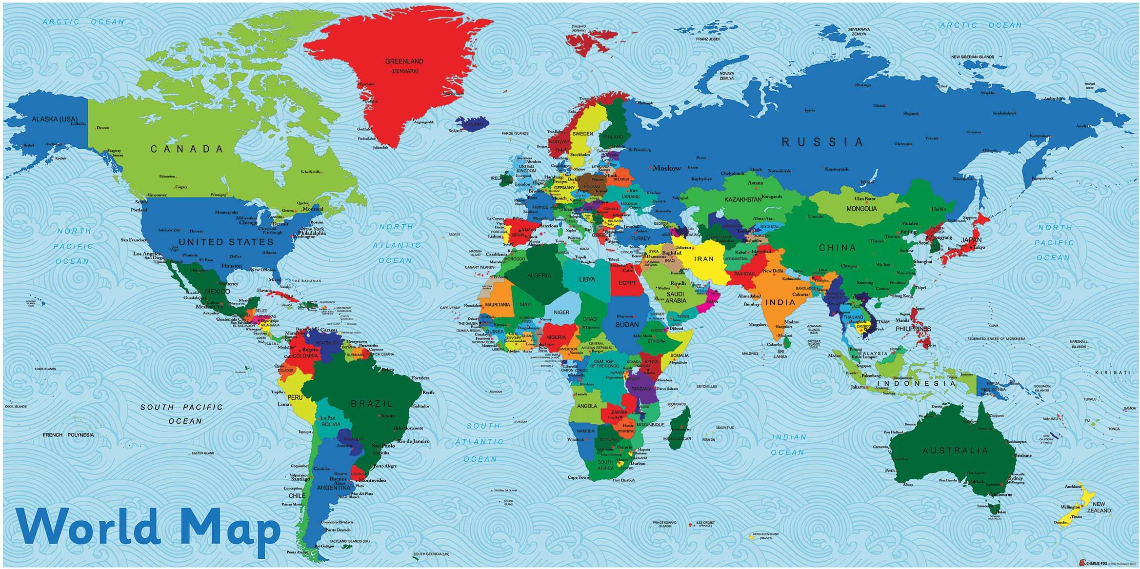 Uk In Map Of World.World Map