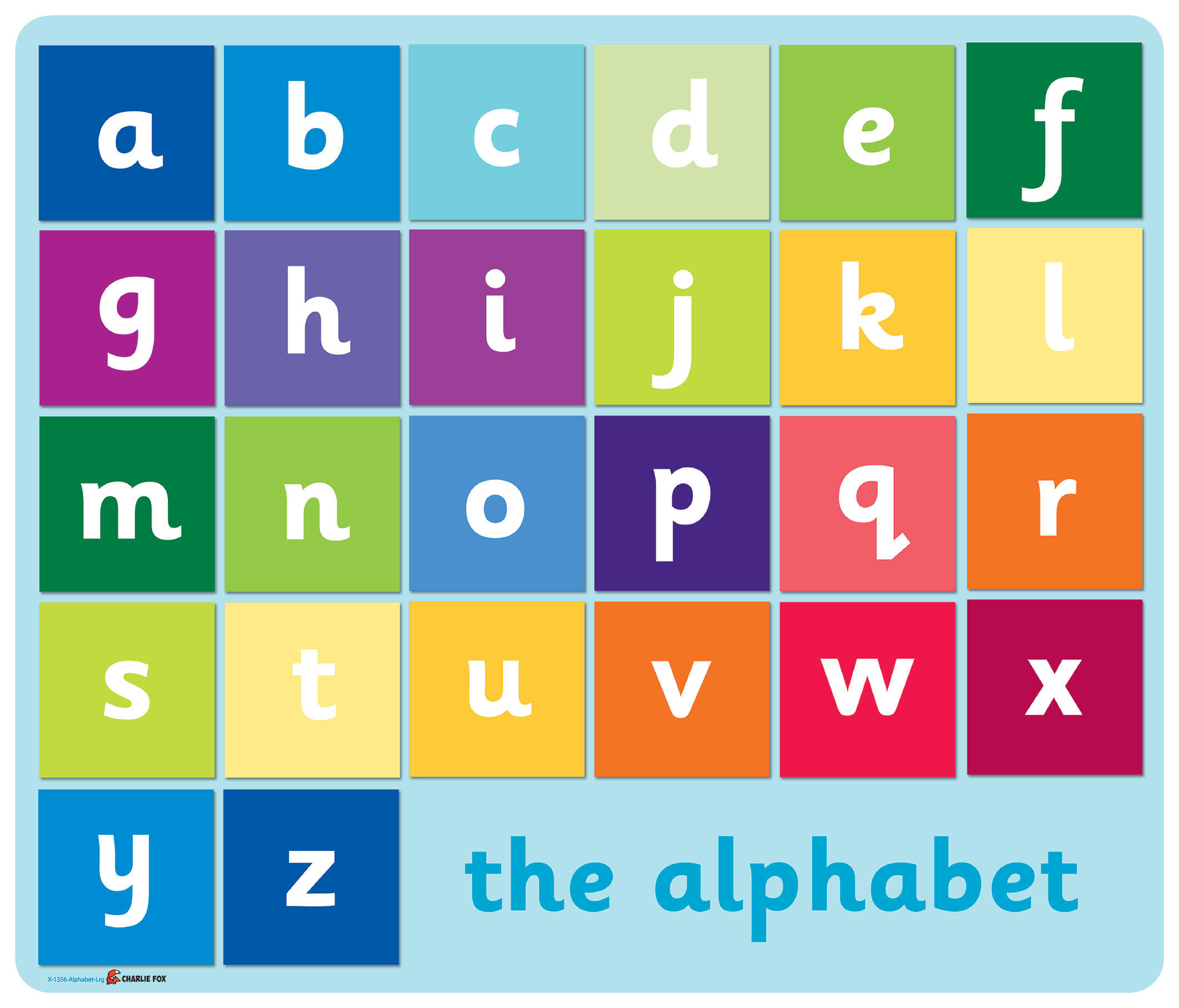 Writing alphabets