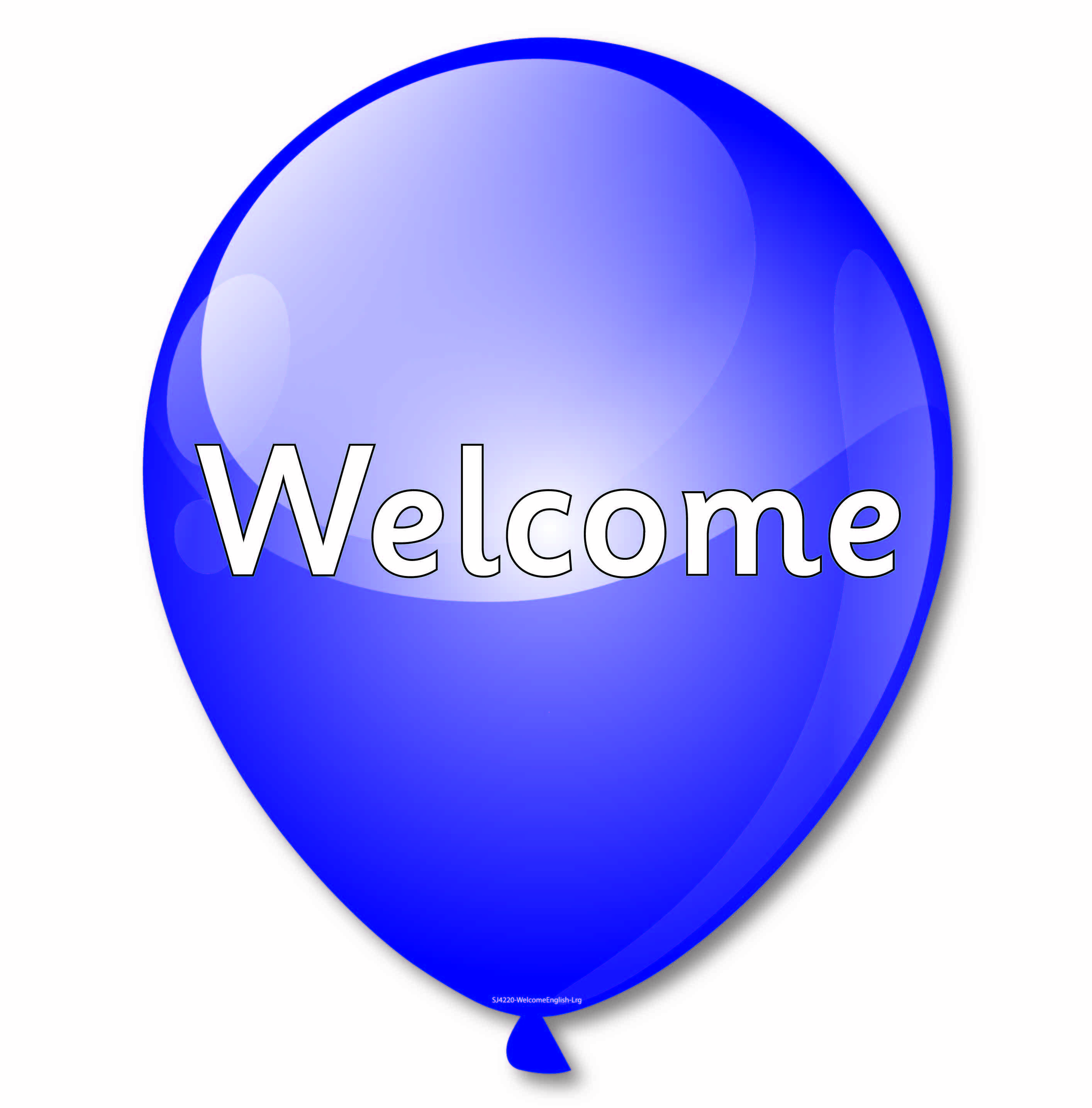 Multi Language Welcome Balloons