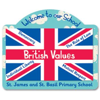 British Values Sign