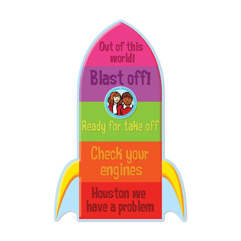 Behaviour Rocket Classroom Sign