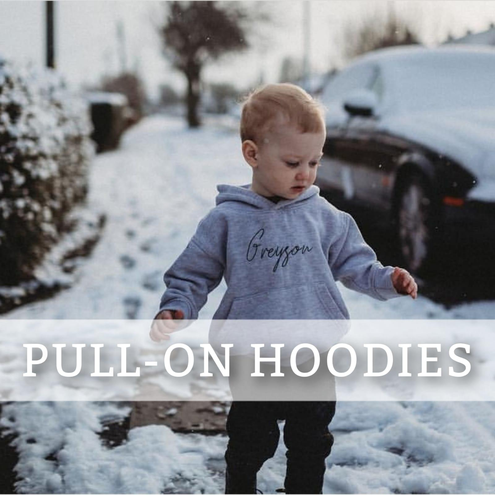 Pull On Hoodies
