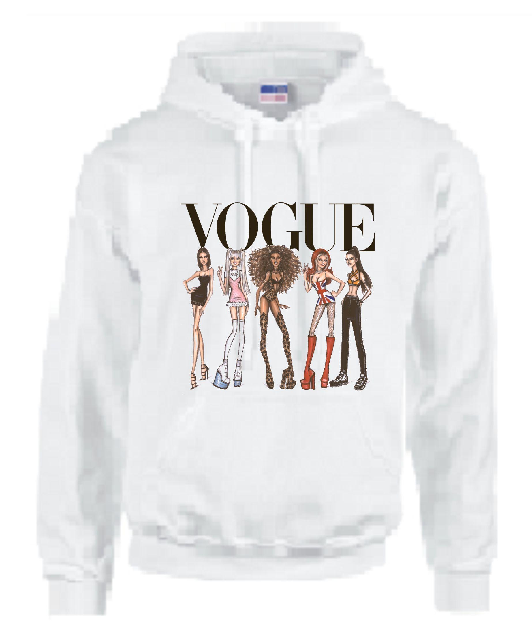 9fac3659e Home · Spice Girls Vogue Adult Unisex Hoodie. Code ADULTHOODIESPRICEGIRLS
