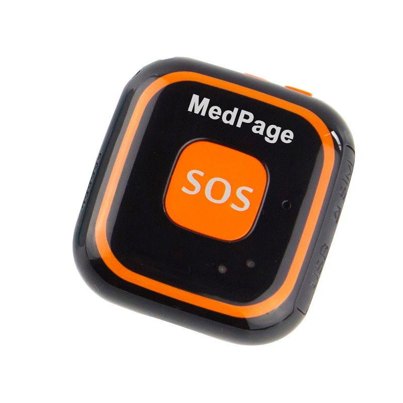 Micro Gps Locator Tracker With Fall Sensor By Medpage