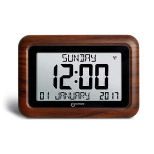 dementia clock calendar clock for dementia calendar clock for seniors alzproducts. Black Bedroom Furniture Sets. Home Design Ideas