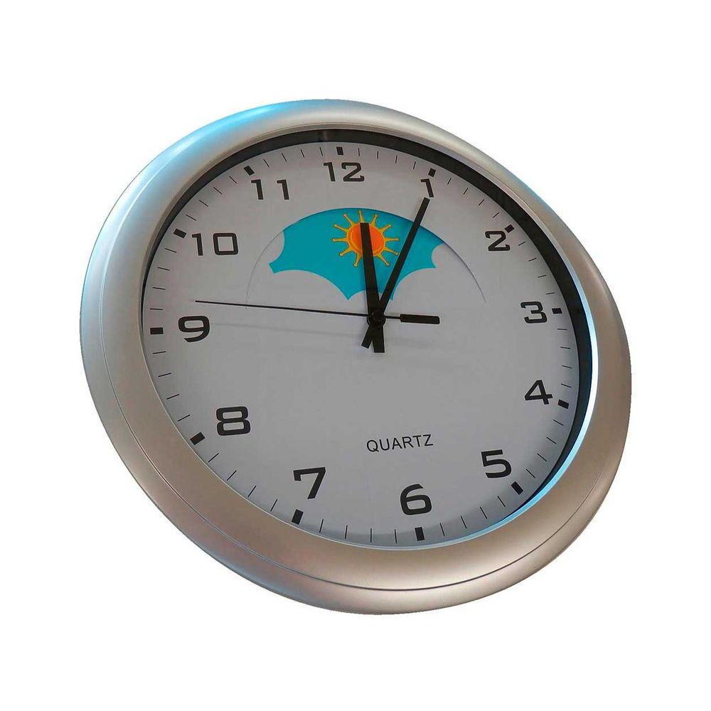 Day Night Analogue Wall Clock