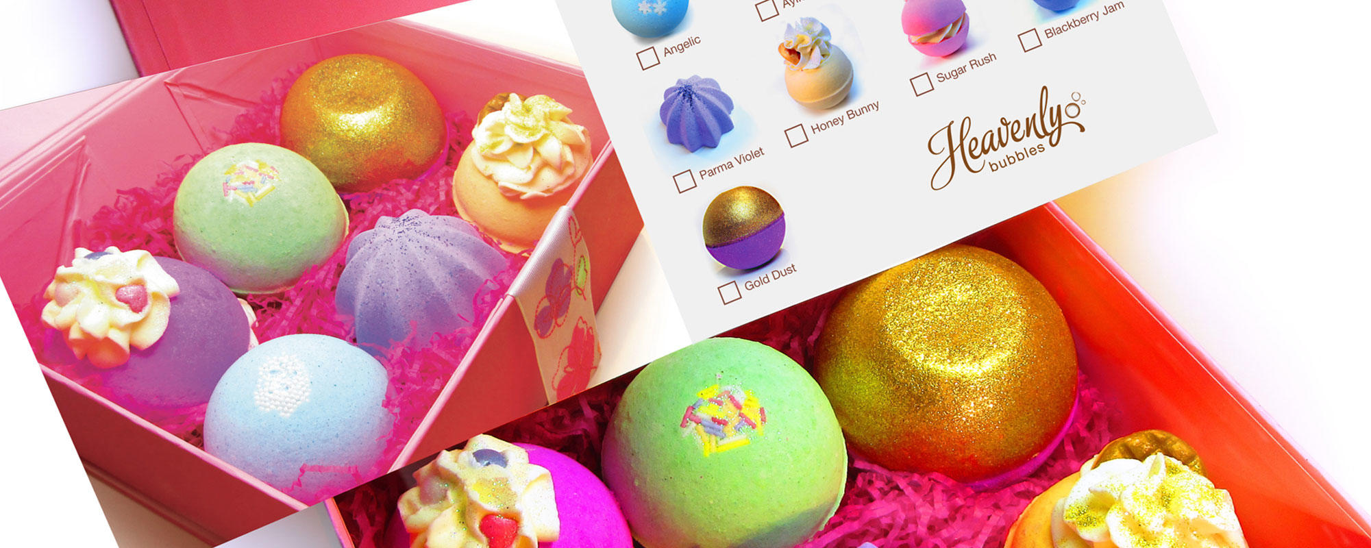 FREE Bath Bomb with orders of £20 and over