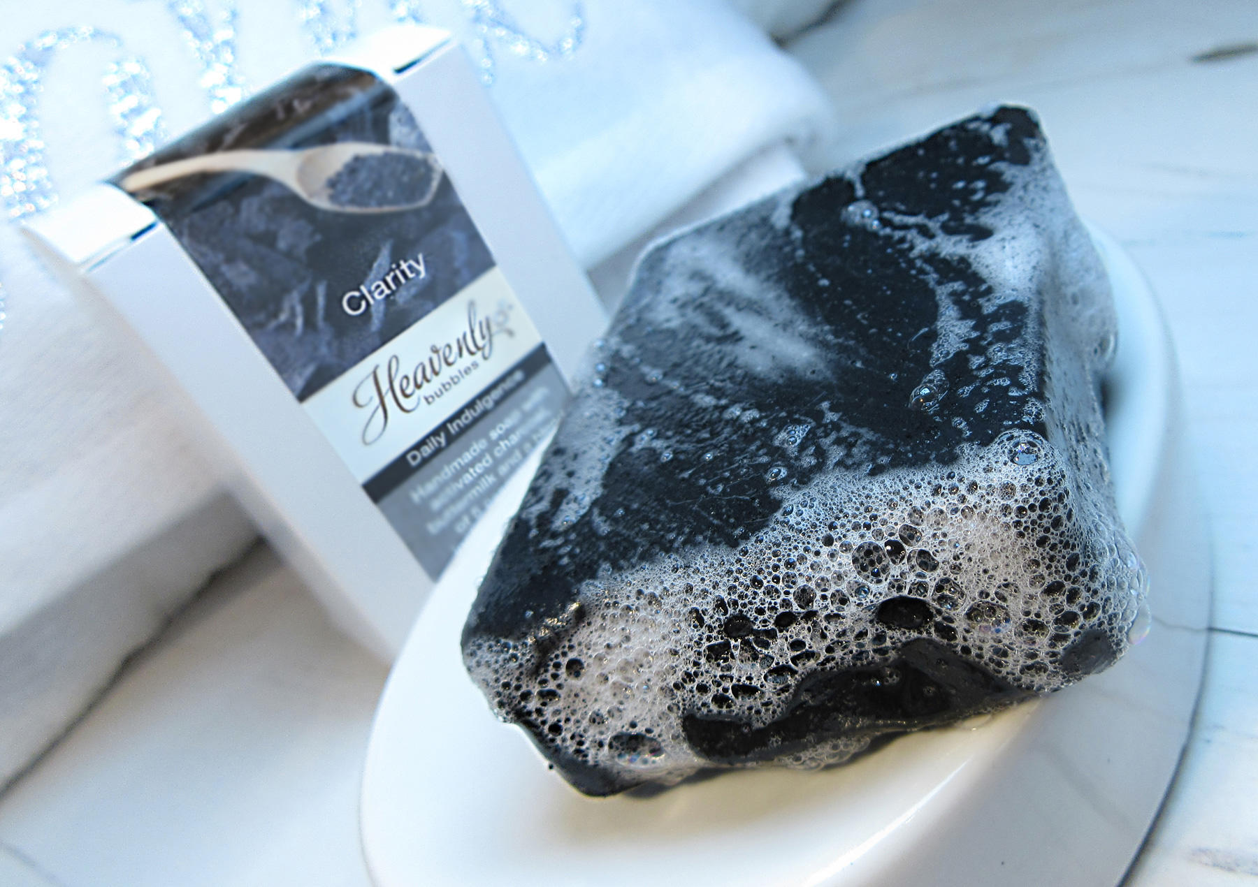how to make activated charcoal soap