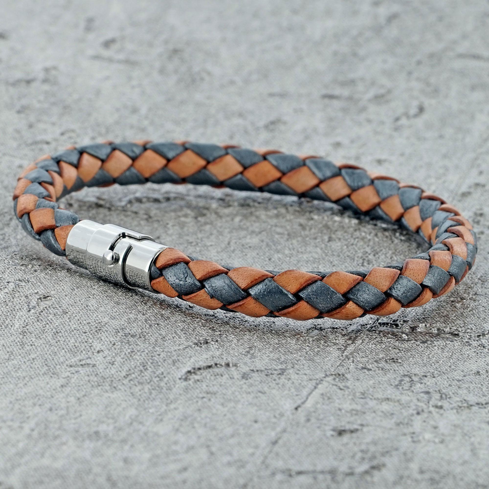 Single Strand Bolo Leather Bracelet