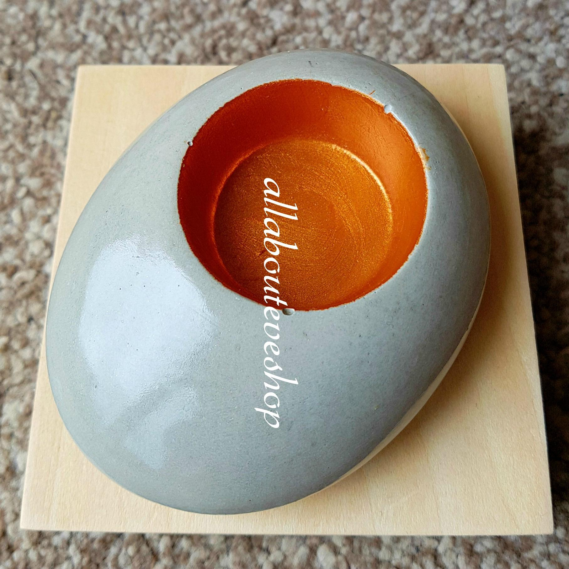 Inner Orange-gold tealight