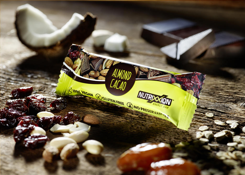 Nutrixxion Gluten Free / Vegan Energy Bars - NOW IN STOCK
