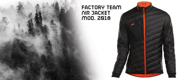 Winter is here!  Be warm with the KTM Air Jacket