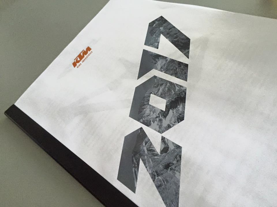 2017 KTM preview book