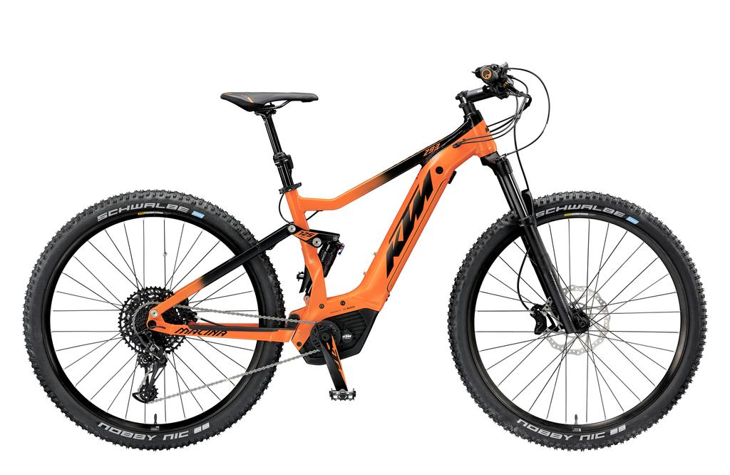 Introducing the 2019 KTM Full Suspension eMTB Range