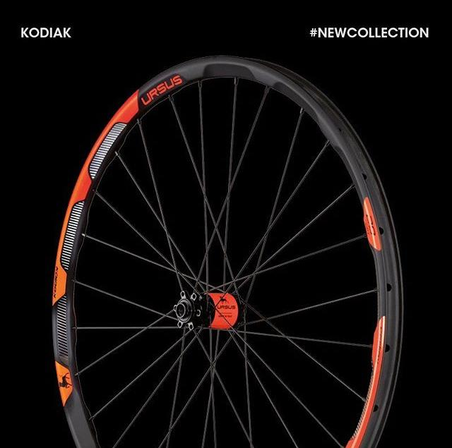 Introducing the new Ursus Kodiak MTB wheelset