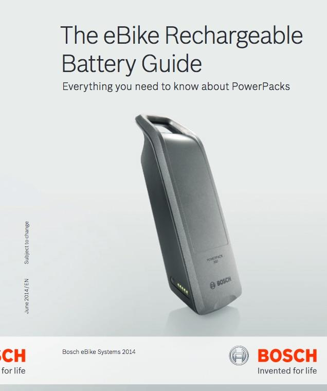 Bosch eBike Battery Guide