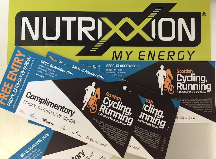 Competition - Scottish Cycling, Running & Outdoor Pursuits Show Free Tickets