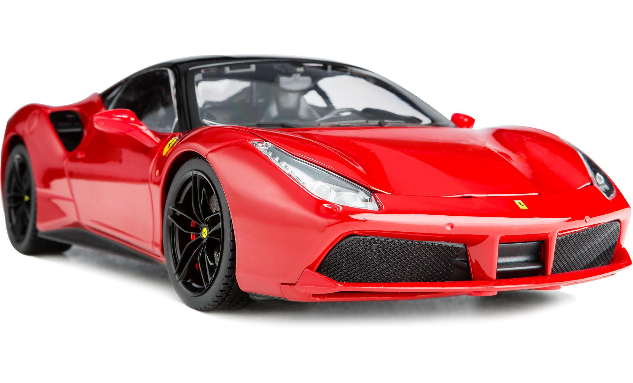 Captivating Ferrari 488 GTB Bburago Signature Series Diecast Model Car