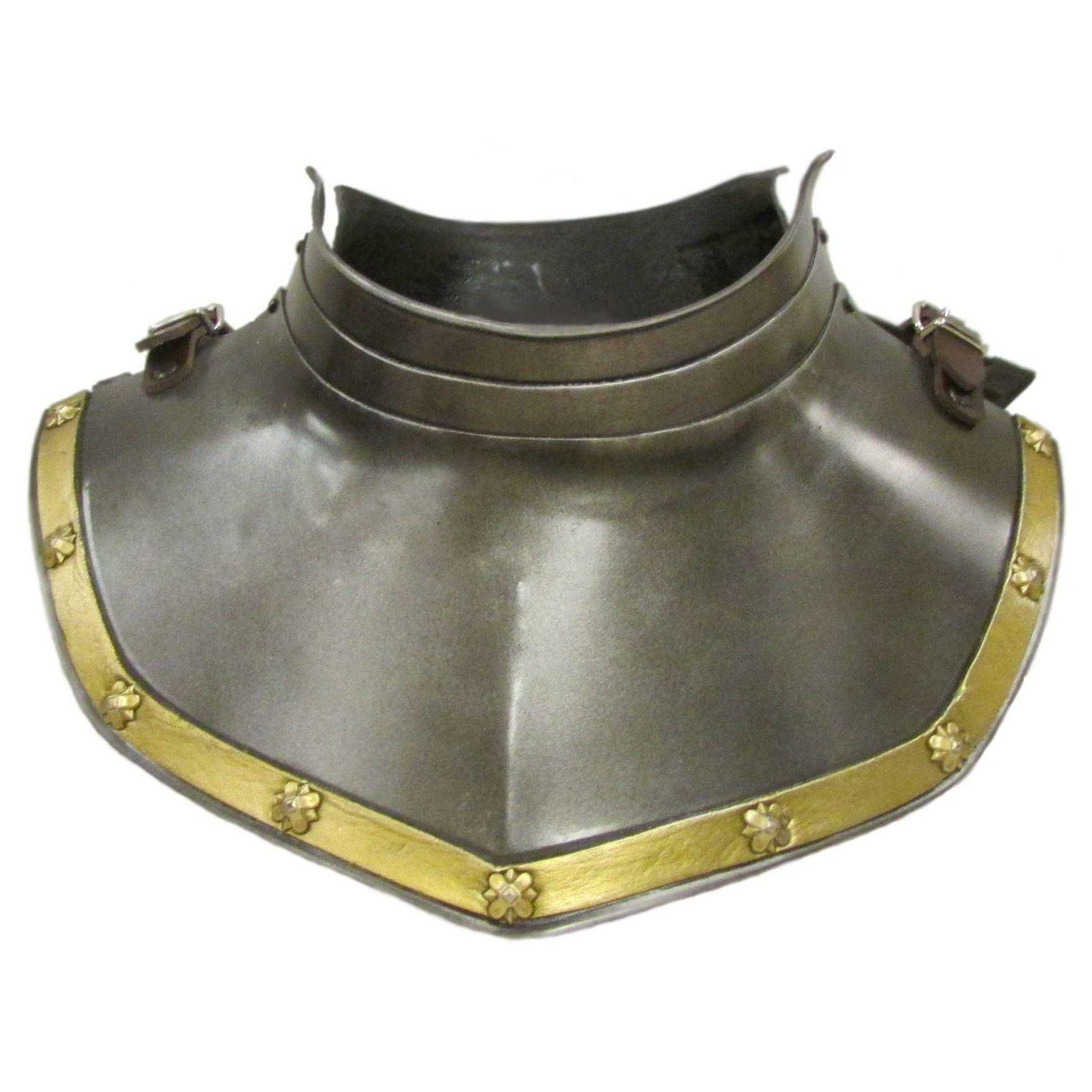 Larp Armour Banded Gorget