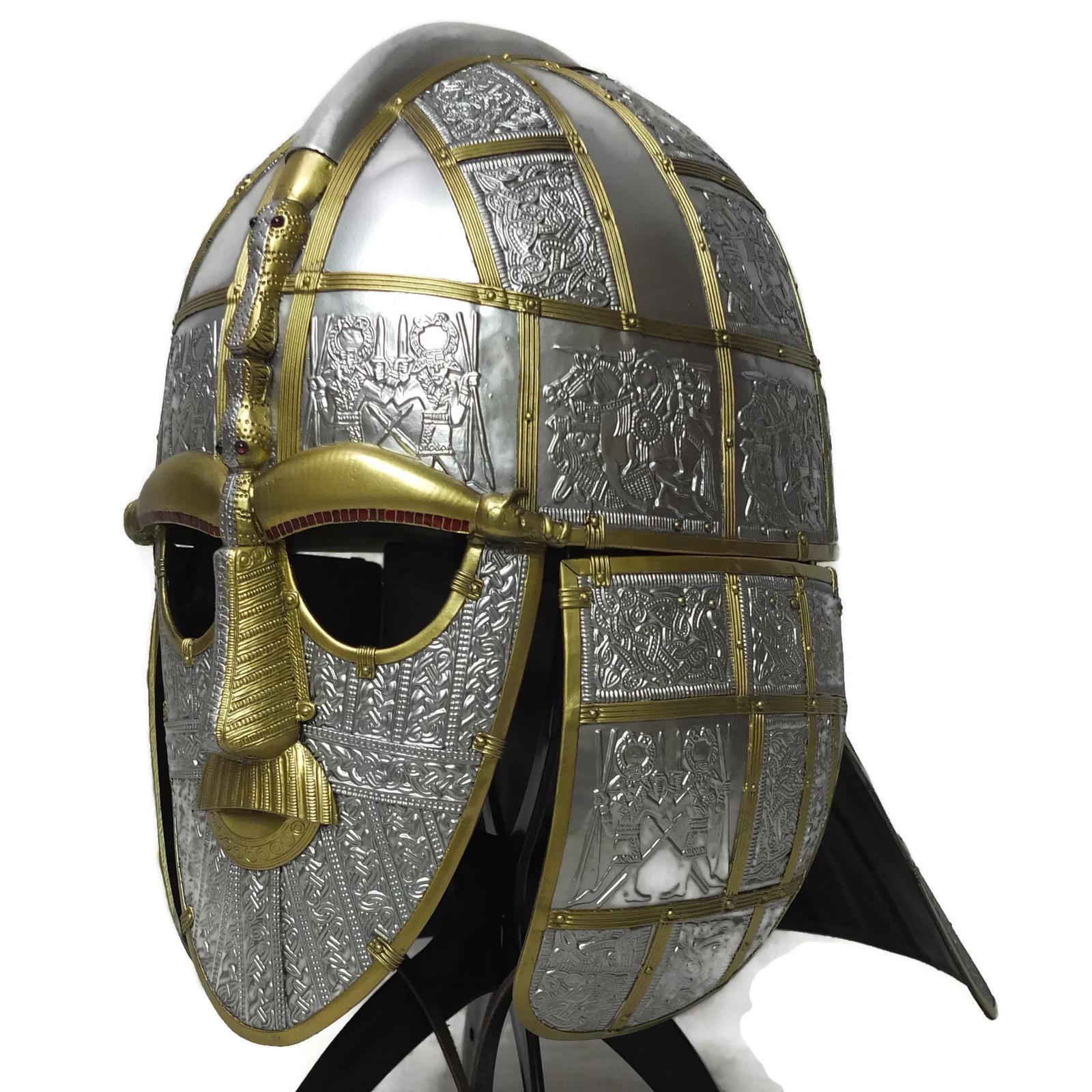 Larp armour sutton hoo helmet for The sutton