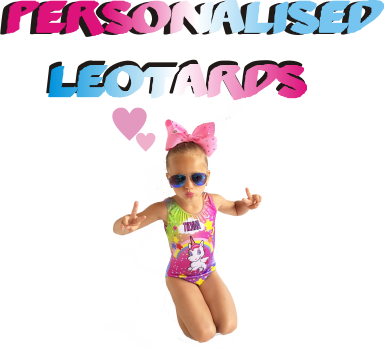 personalised leotards collection