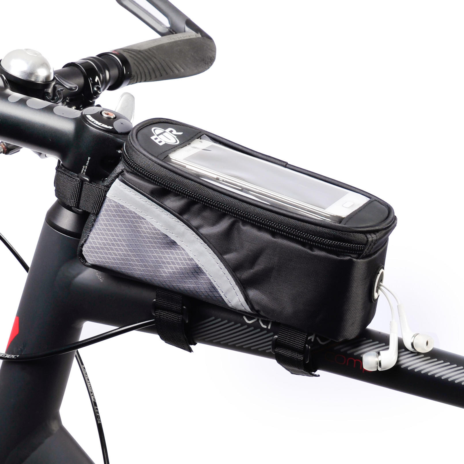 how to carry phone on bike