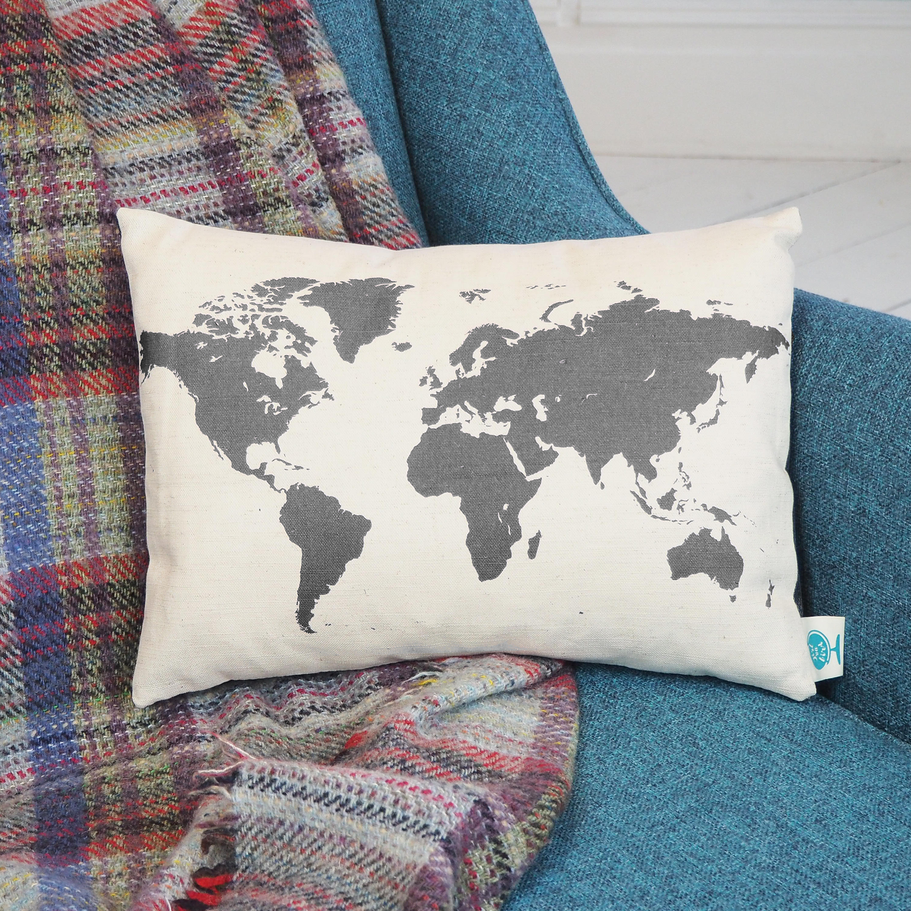 World map silhouette cushion gumiabroncs Images